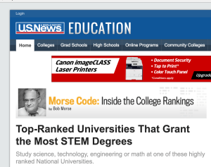 Colleges offering STEM degrees
